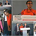 Rama Sall, candidate aux élections cantonales partielles des Yvelines