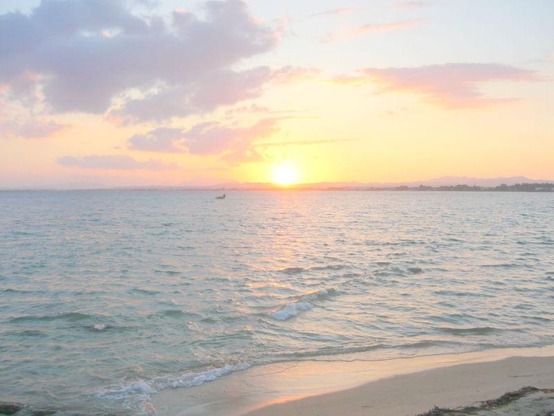 Le coucher de soleil du lundi 15 septembre 2008.