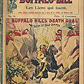Buffalo Bill, <b>Cri</b> <b>Cri</b> et Nick Carter