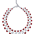 A magnificent ruby and diamond necklace, by <b>Etcetera</b>