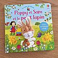 Nous avons découvert Poppy et Sam et le petit lapin (<b>Editions</b> <b>Usborne</b>)