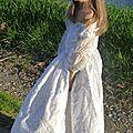 Robe de princesse Lune blanche vue1