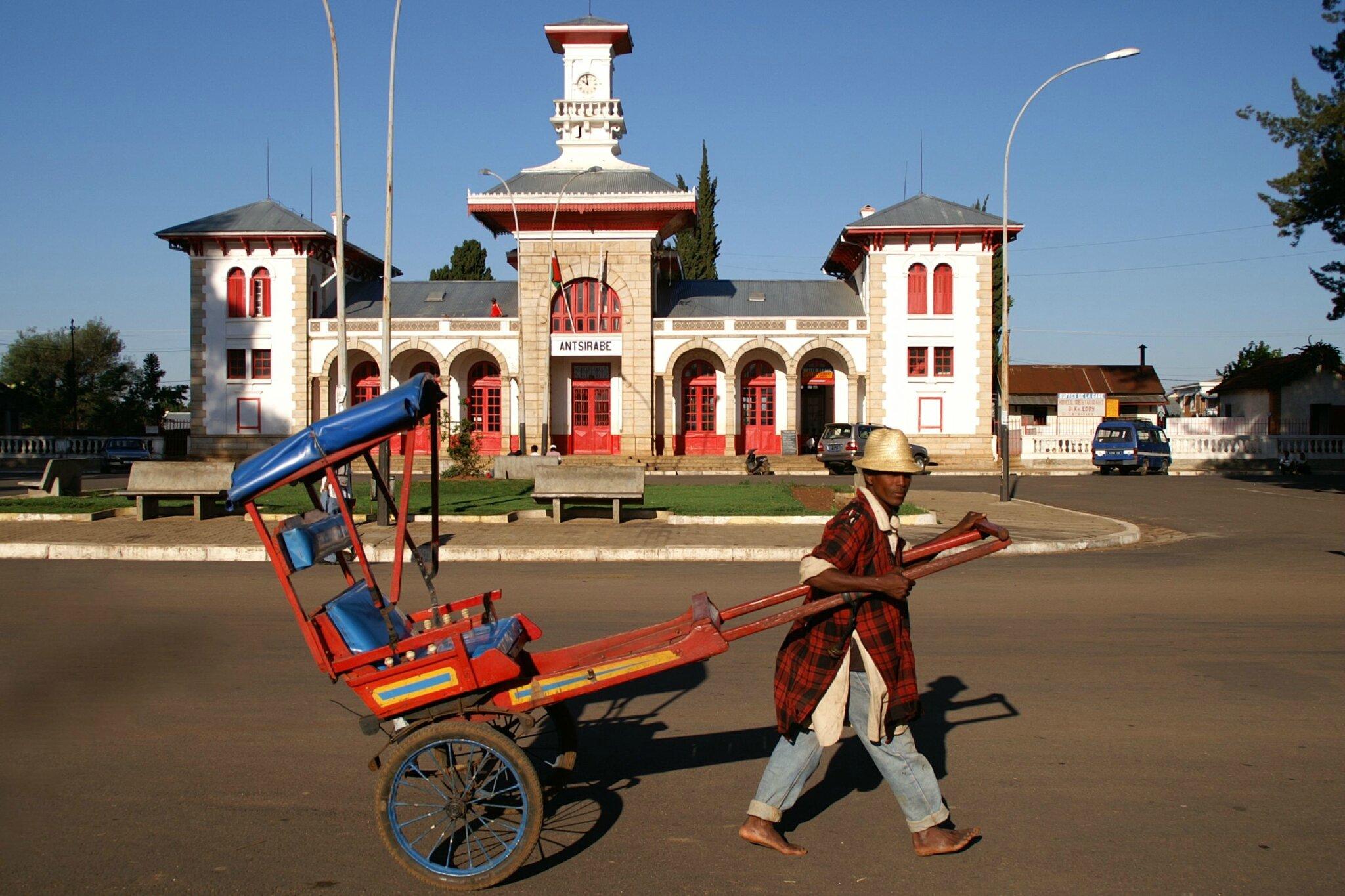 La Gare d'Antsirabé