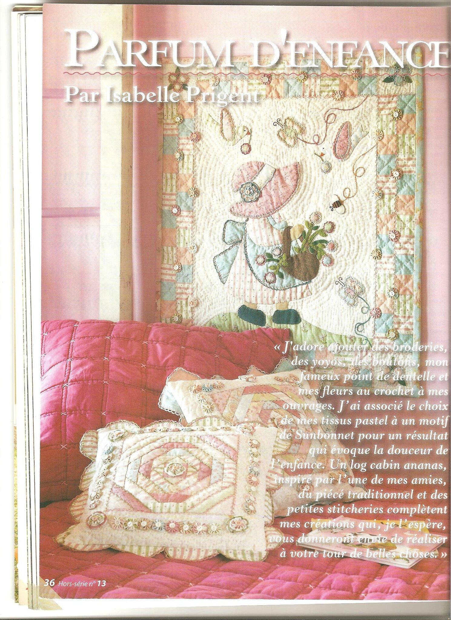 * Parfum d' enfance par Isabelle Prigent