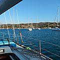 Mouillage à Rondinara (Corse) 040815