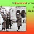 Ali boumendjel, un homme dans son temps