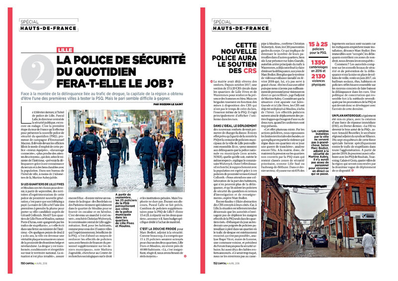 police proximite lille drogue racailles Capital_France_-_Avril_2018