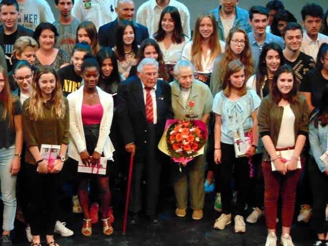 7 juin 2017 au Thor: remise des prix du Concours National de la Résistance et de la Déportation
