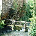 Moulin a eau sur la Marche