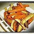 Frites de legumes a l'actifry