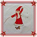Broderie de noël : christmassy messengers (02)