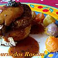 <b>Tournedos</b> Rossini