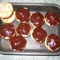 Muffins pommes choco (raté)