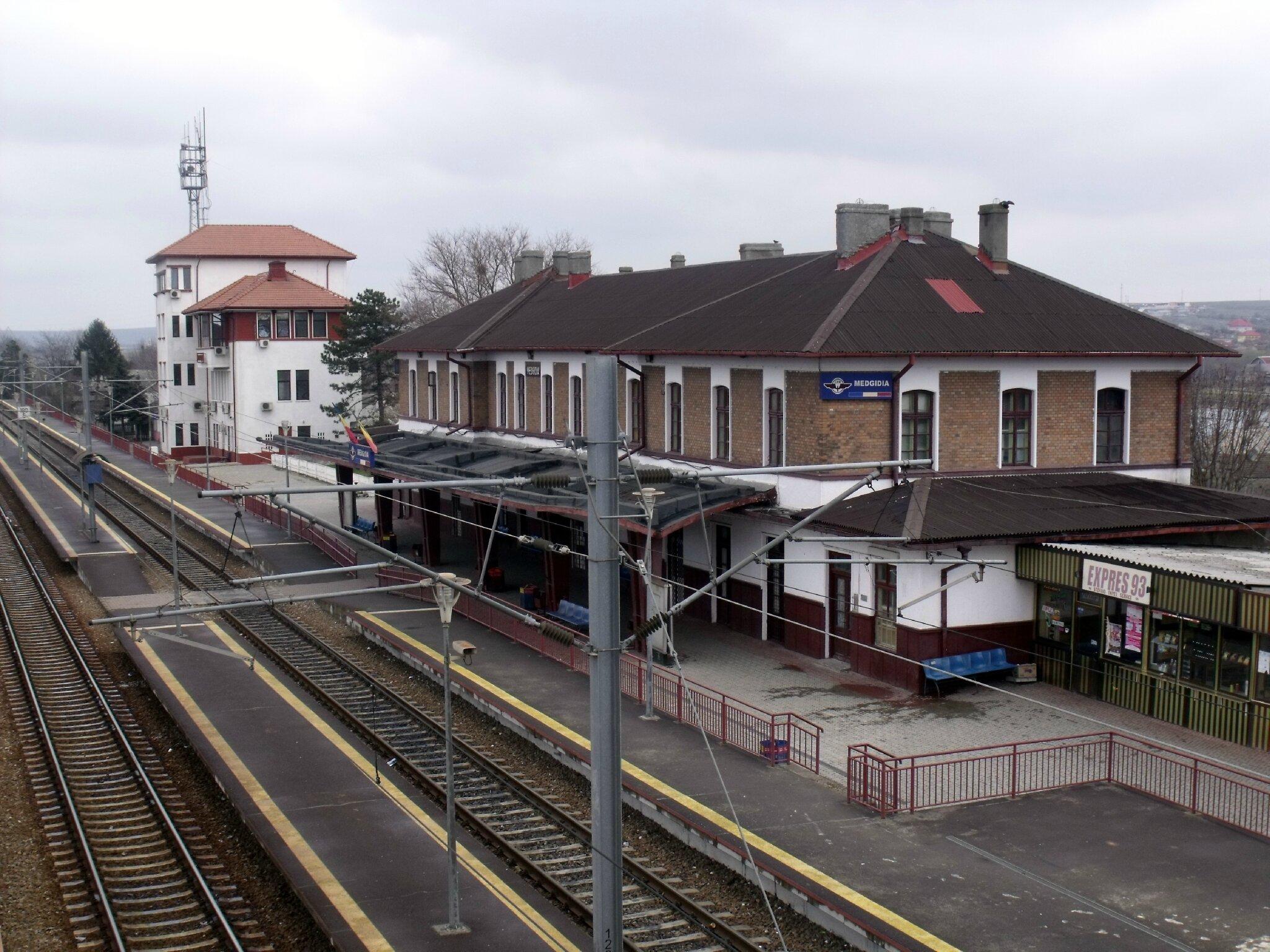 Medgidia (Roumanie) BV et Poste