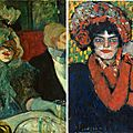 First exhibition devoted to comparing picasso and lautrec opens in madrid