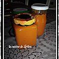 Confiture abricots/melon/pommes