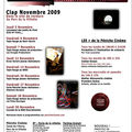 Programme de novembre