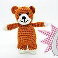 #<b>Crochet</b> : Le petit ours - Ma box <b>Crochet</b> DIY - Marabout