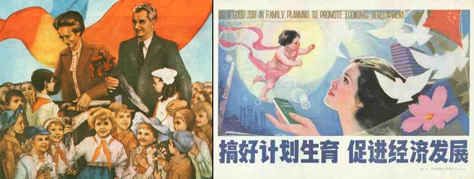 Affiches anti et pro-natalistes (10)