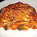 Lasagnes de légumes ( recette végétarienne )