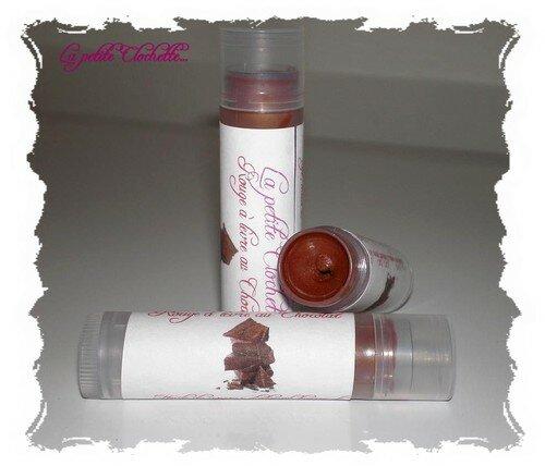 Rouge à lèvre au chocolat