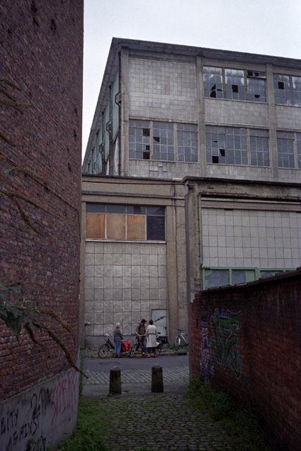 Leuven, zone industrielle du port, août 2007