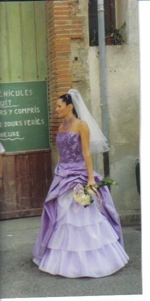 robe de mariée de ma fille en 2003