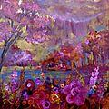 les rêves roses 50x50cm