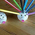 Premiers prototypes de hérissons au tour