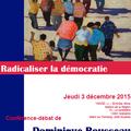 D Rousseau <b>Radicaliser</b> la démocratie