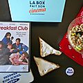 Coffret <b>Box</b> cinéma Back To School : pour découvrir ou redécouvrir Breakfast Club, un classique du teen movie