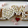 Gâteau moelleux à la confiture de framboises et chantilly vanillée