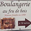 Boulangerie gimenes au feu de bois (pernes-les-fontaines .84)