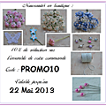 Promotion/nouveautés + frais de port offert