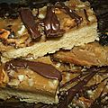 Walnuss toffee shortbread