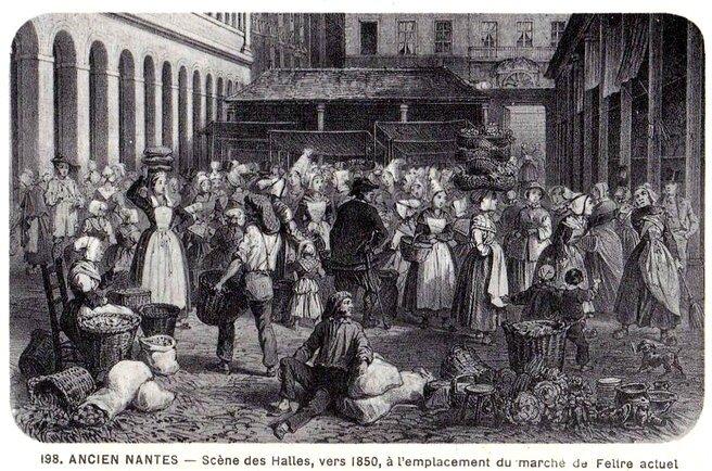 Ancien Nantes - Halles