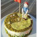 Gâteau golfeur....pour mon pôpa !