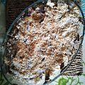 Crumble aux poires et au nutella