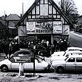 Trappes : le cinéma Normandie dans les années 1960.