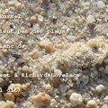 sable blanc de Bali