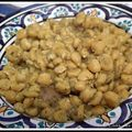 Pois chiches à la marocaine