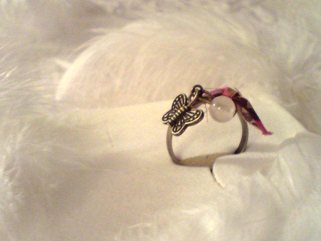 Bague quartz rose Liberty