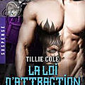 <b>Hades</b> <b>Hangmen</b> T3 La loi d'attraction de Tillie Cole