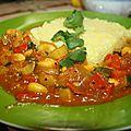 légumes et riz aux épices du soleil