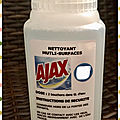 🌿 ajax - nettoyant multi surfaces - test senses club 🌿