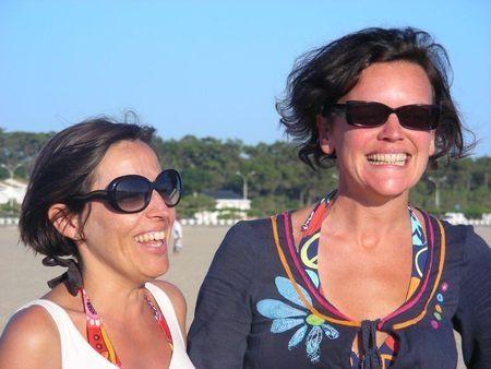 Florence et moi, juillet 2010