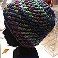 Modèle bonnet spirale
