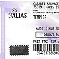 Temples - Mardi 10 Mars 2020 - Cabaret <b>Sauvage</b> (Paris)