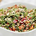 Salade de légumes au quinoa