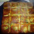 Gâteau invisible courgettes et chorizo